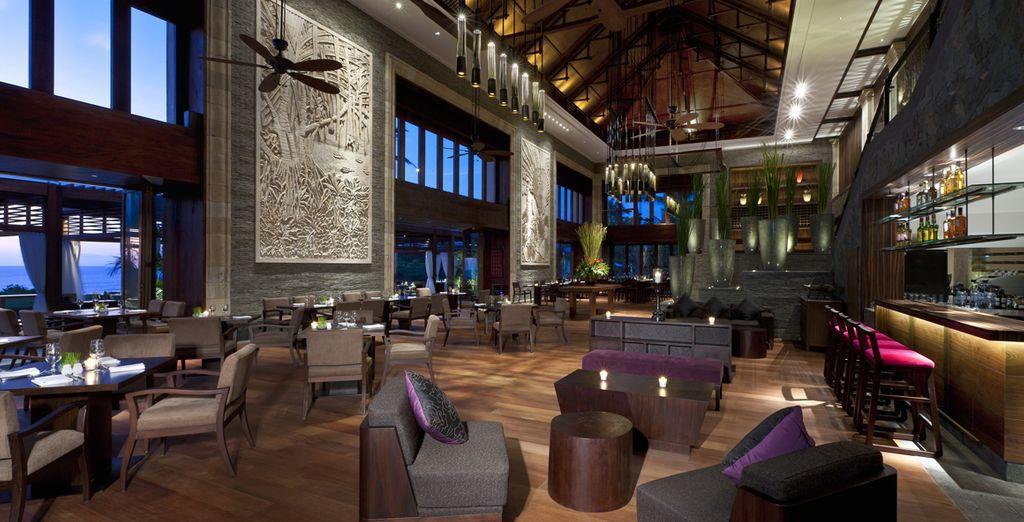 Ou savourer votre tranquillité dans le décor sophistiqué de votre hôtel