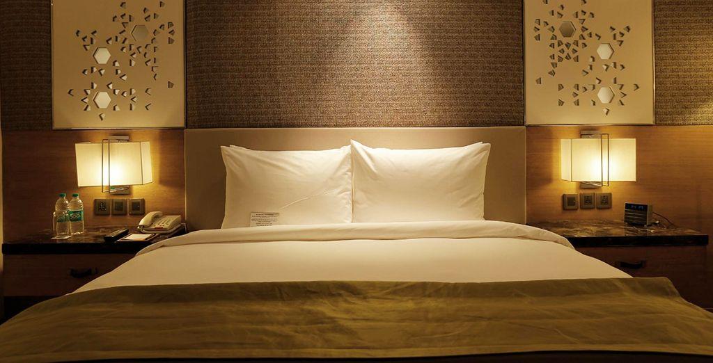 Et dormez à chaque étape dans des hôtels 5*