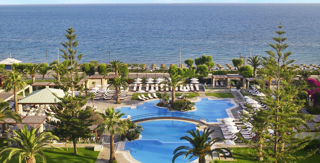 Vous avez besoin de vous détendre dans une oasis luxuriante et apaisante?