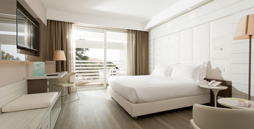 Réservez votre chambre Supérieure Vue Mer Latérale