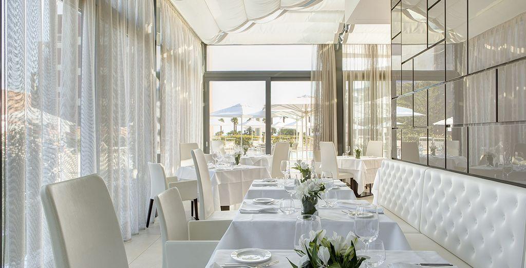 Son restaurant le Mediterra