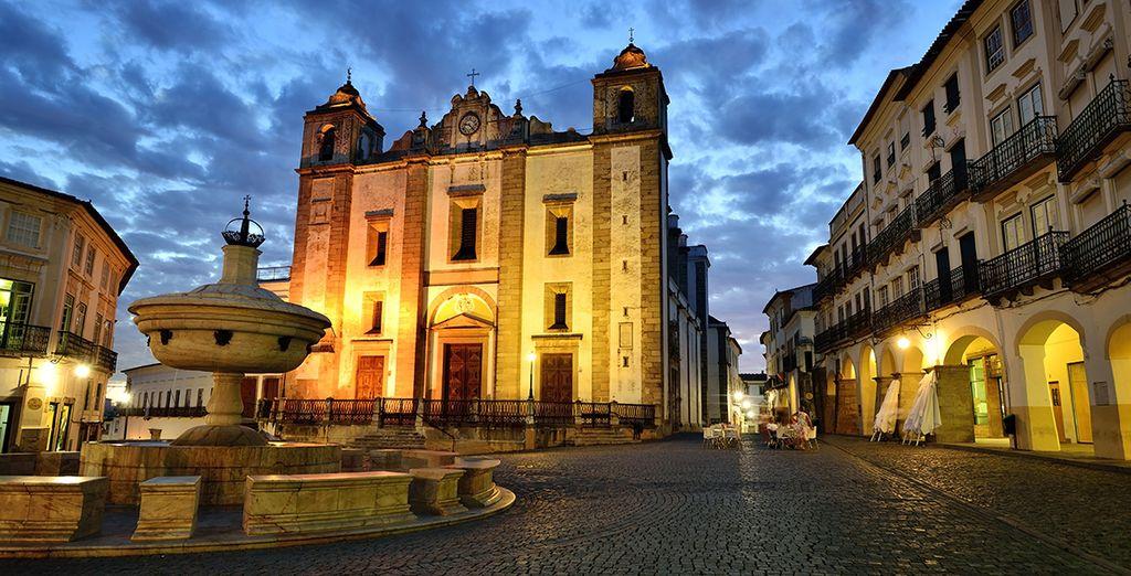 Tel que celui de la jolie ville d'Evora, classée au Patrimoine Mondial de l'Unesco !