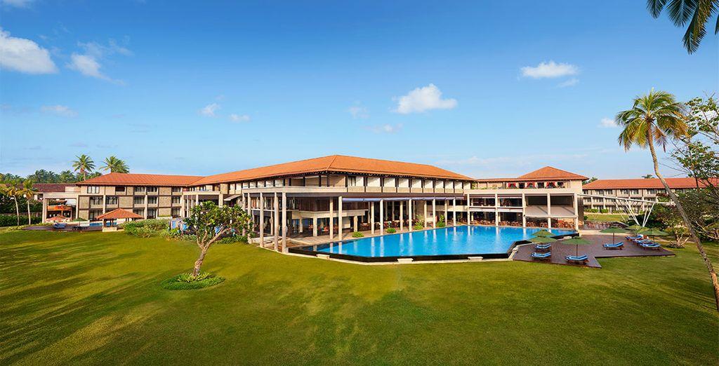 Niché sur la côte Ouest du pays, au sud de Colombo... Le Cinnamon Bey vous ouvre ses portes