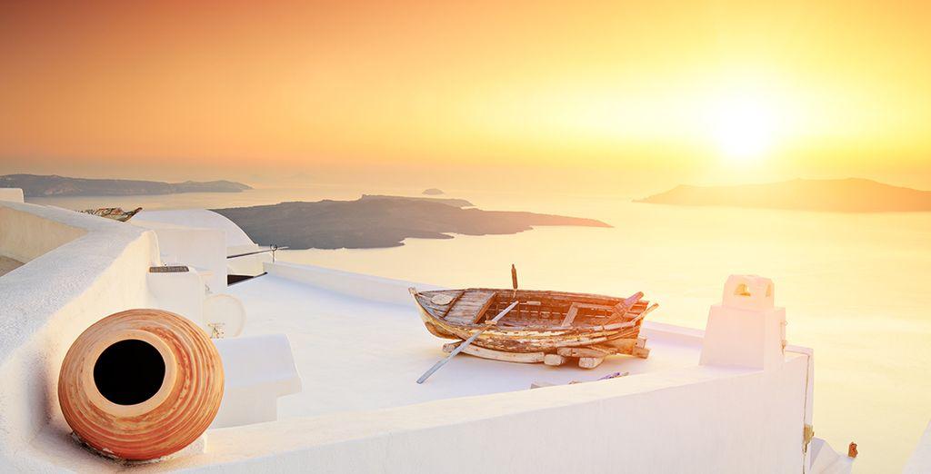 Vous reviendrez comblé de votre séjour dans les Cyclades...