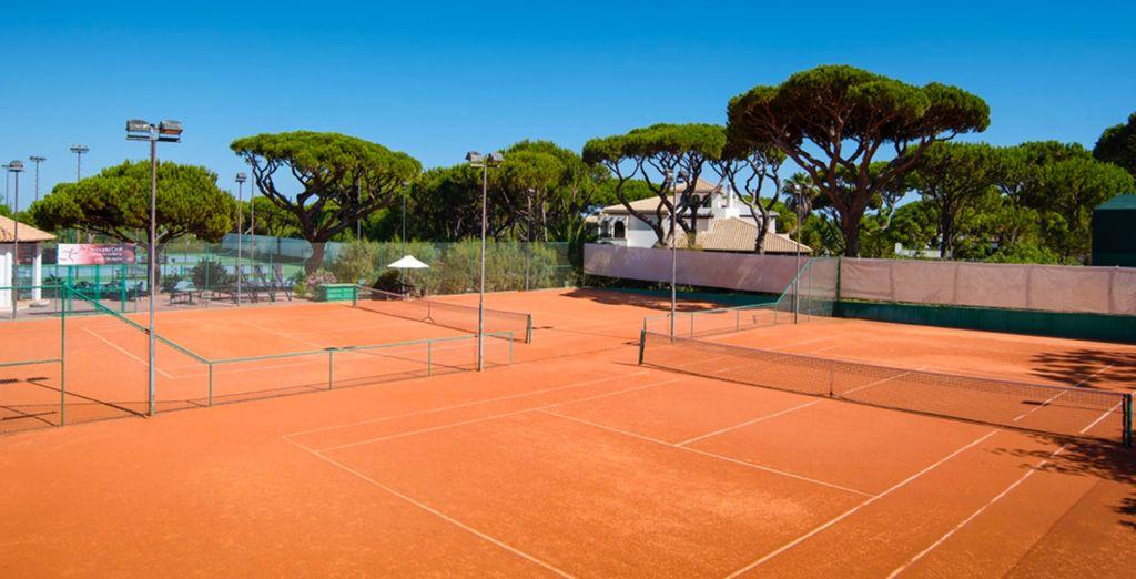 faites une partie de tennis,