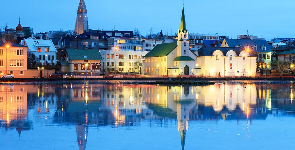 Rejoignez la capitale Reykjavik