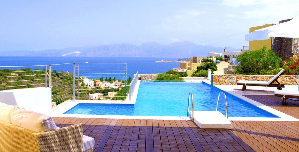 En quête d'un séjour de luxe face à la mer ? - Pléiades Luxurious Villas Agios Nikolaos