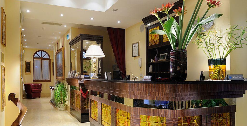 Offrez-vous un boutique-hôtel raffiné et romantique...
