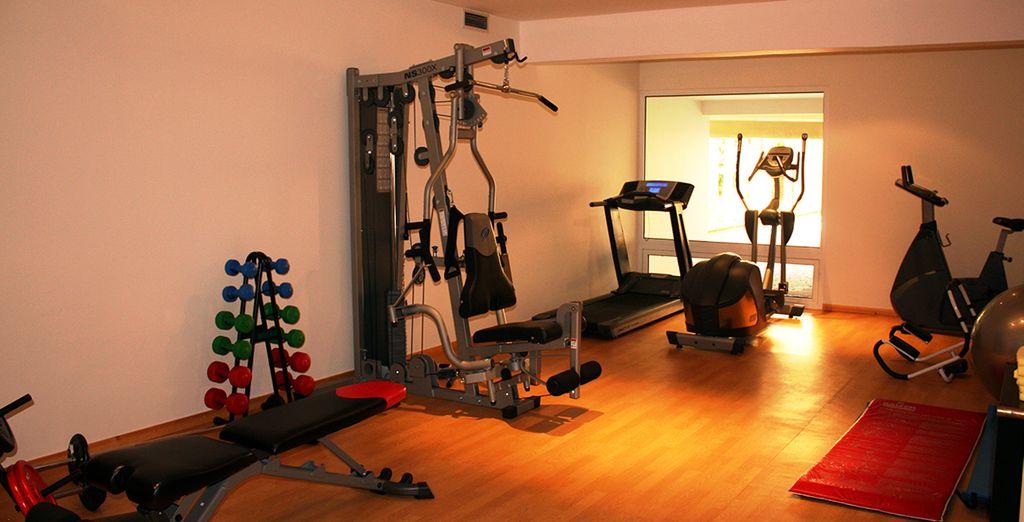 Avant de rejoindre la salle de fitness...