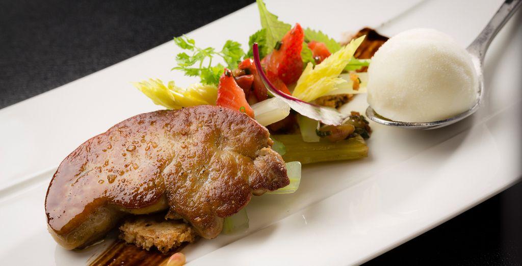 Pour goûter à une cuisine articulée autour de produits régionaux