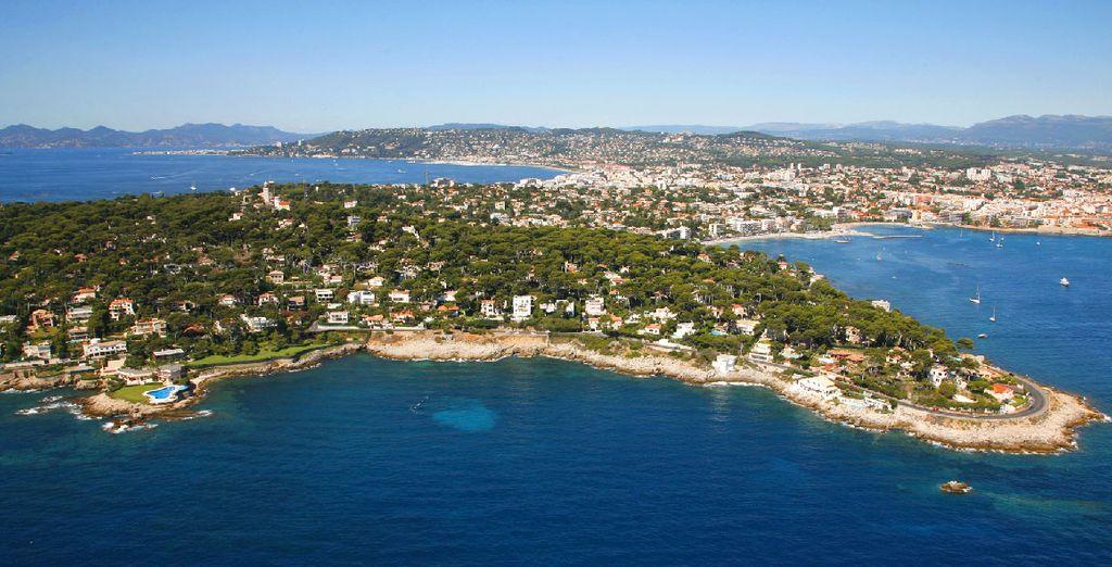 Et de profiter de la douceur de vivre sur la Côte d'Azur...