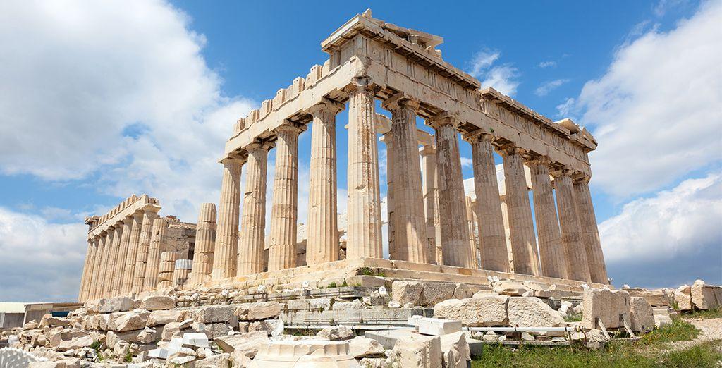 Comme la célèbre Acropole d'Athènes