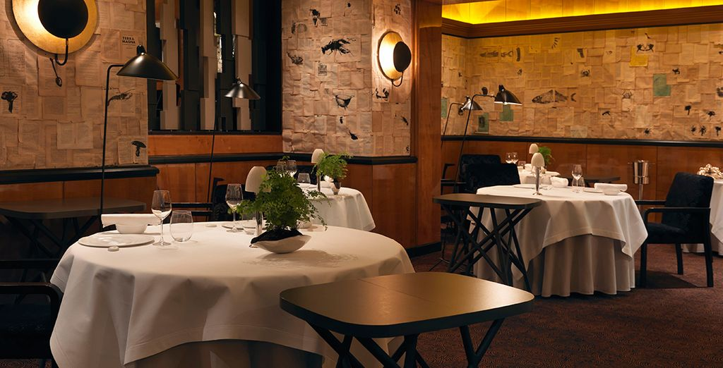 Installez-vous dans l'un des meilleurs restaurants de Paris