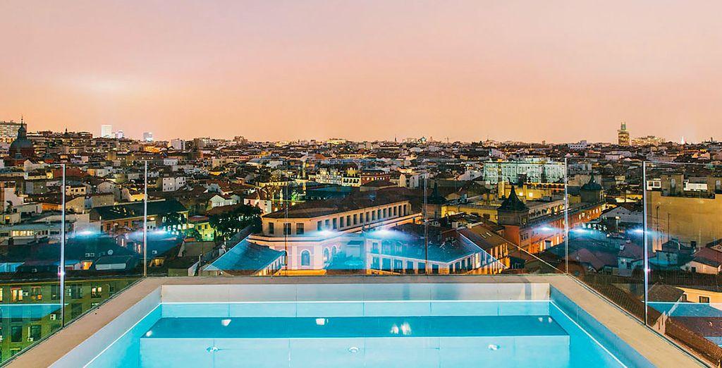 Bienvenue dans votre hôtel à Madrid