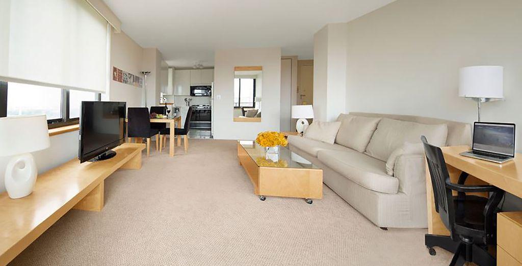 Confortablement installé au Marmara Manhattan - Hôtel The Marmara Manhattan 4* New York