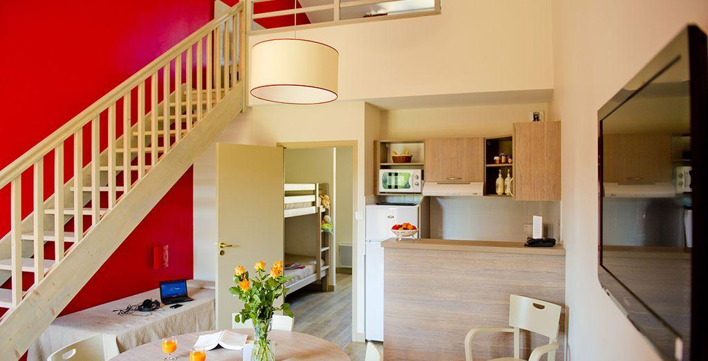 Où vous attendent des appartements modernes...