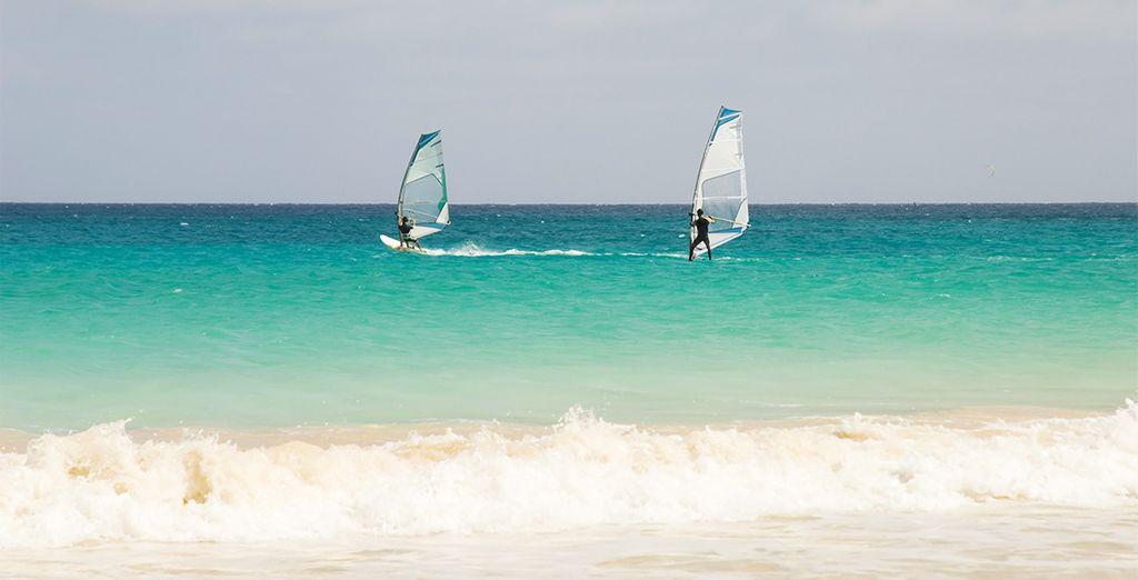 Entre sports nautiques...