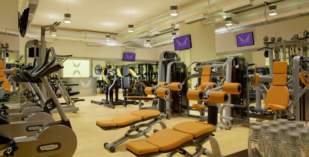 Testez la salle de fitness