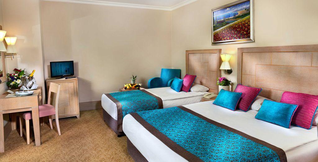Découvrez le confort douillet de votre chambre Standard