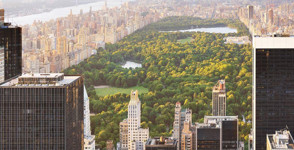 Vous logerez à deux pas de Central Park
