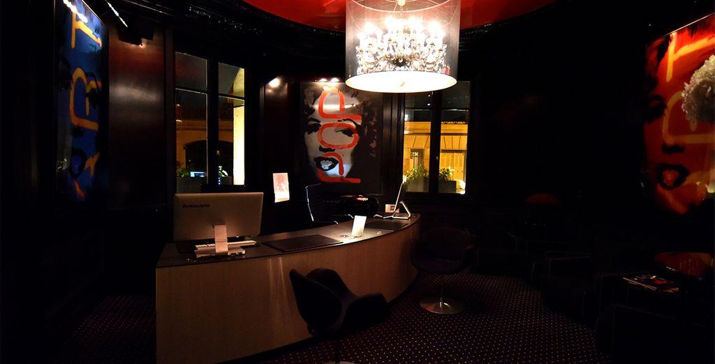 Bienvenu à l'hôtel Mon hôtel et son atmosphère singulière... - Hôtel Mon Hôtel 4* Paris