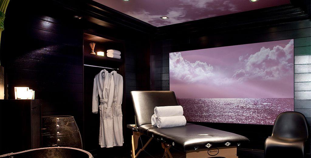 Profitez d'un massage au Spa pour vous sentir comme à la plage
