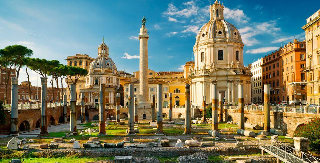 Avant de partir à la conquête de Rome