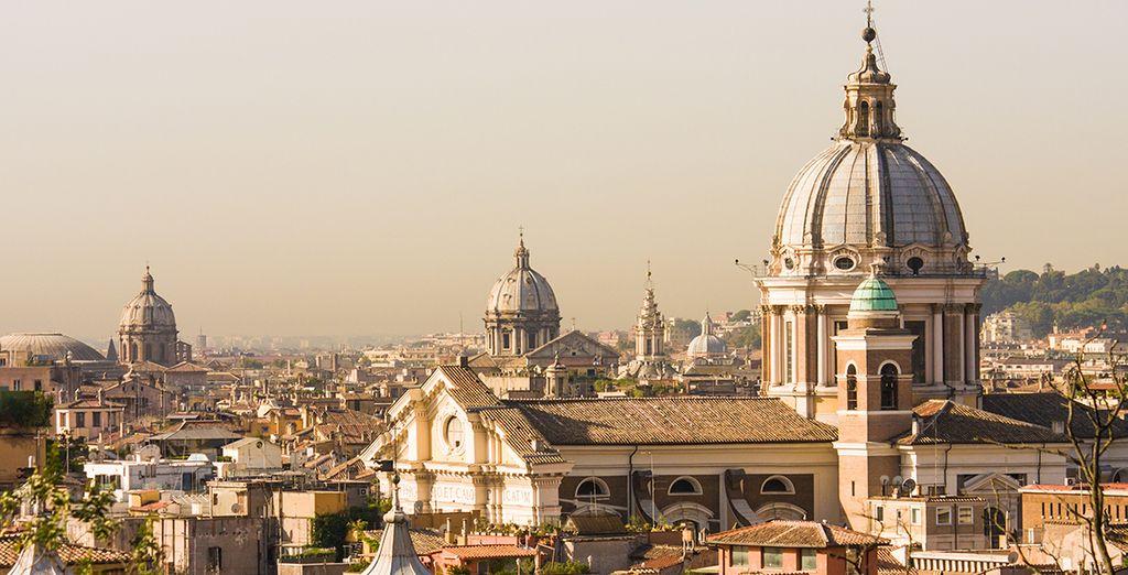 Bon séjour dans la capitale italienne !
