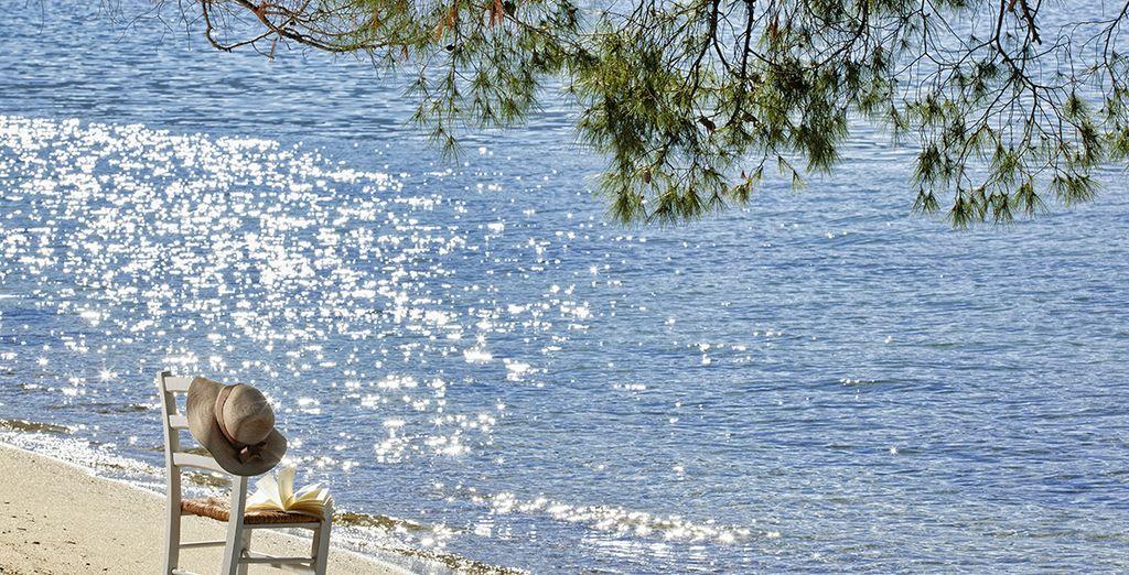 Ou la plage et son sable fin...