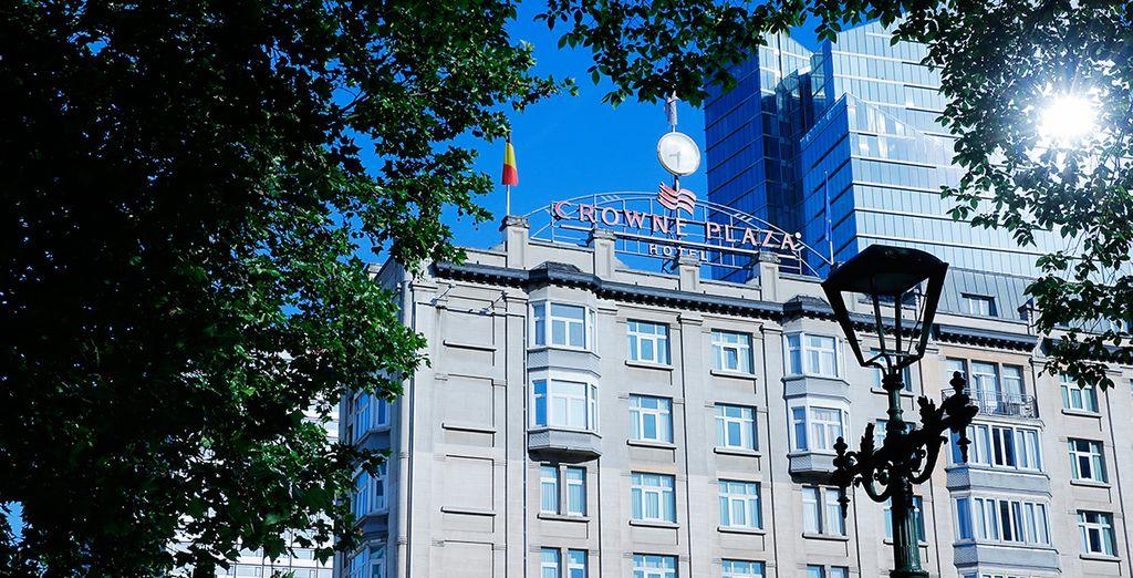 Vous poserez vos valises à l'élégant Crowne Plaza Brussels - Hôtel Crowne Plaza Brussels 4* Bruxelles