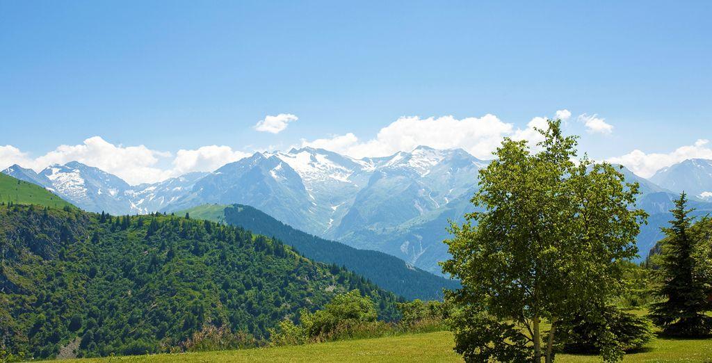 Respirez à pleins poumons l'air pur des sommets alpins