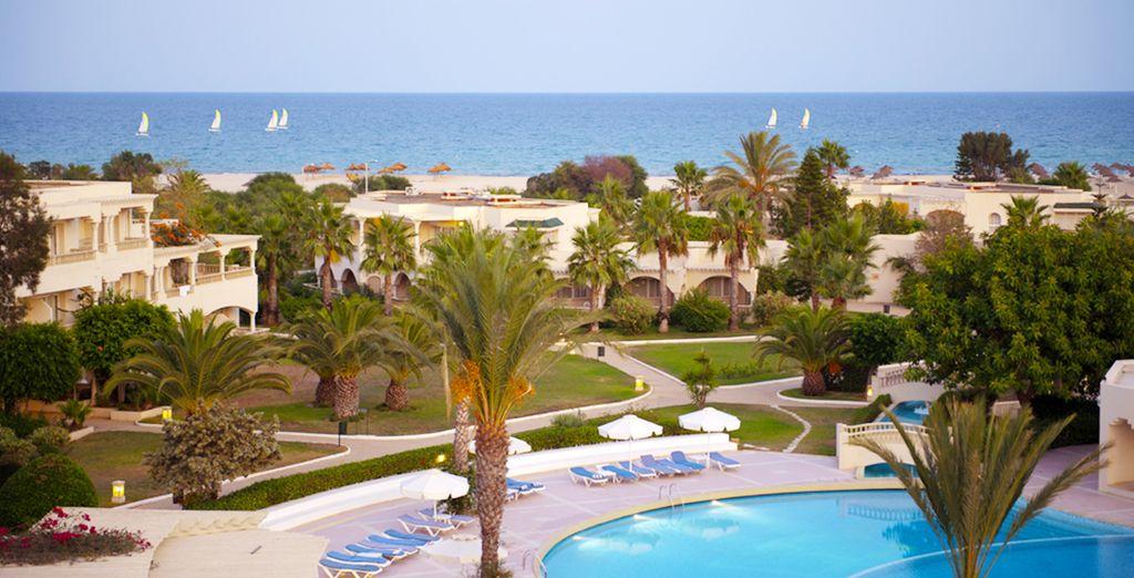 Bienvenue à l'hôtel Royal Hammamet !