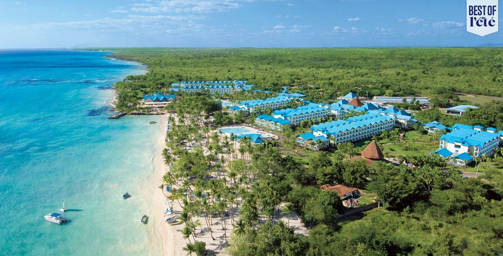 Bienvenue dans le décor de rêve de la plage de Bayahibe - Hôtel Dreams La Romana Resort et Spa 5* Bayahibe
