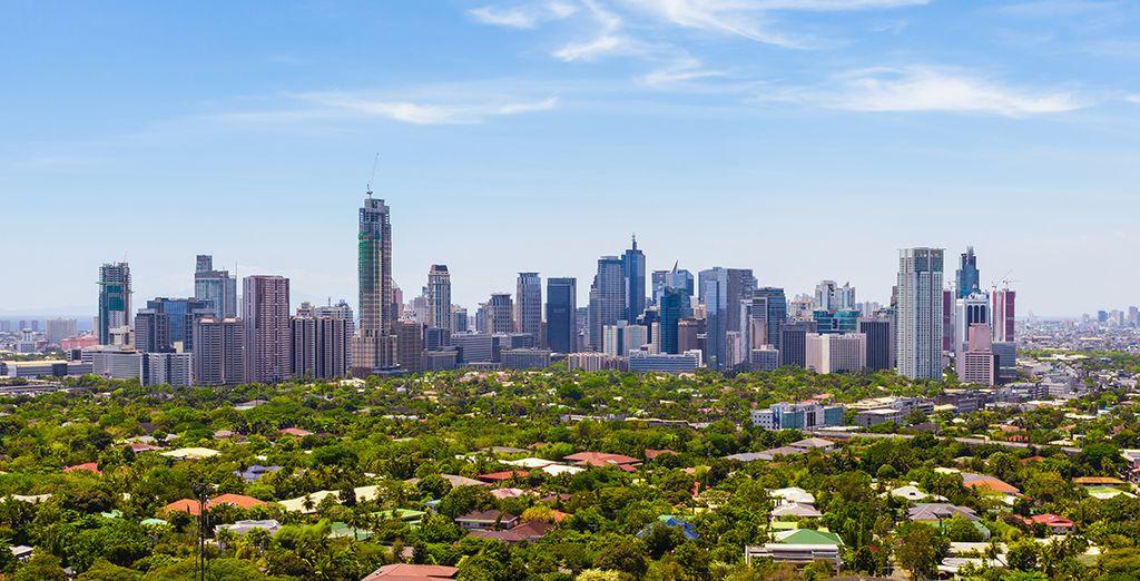 Commencez votre périple par Manille, capitale cosmopolite
