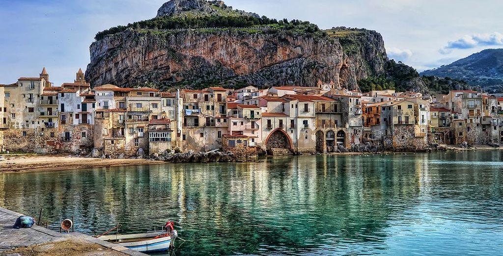 Une ville médiévale pittoresque