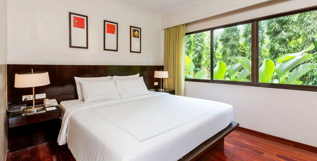 Venez y découvrir votre One Bedroom Deluxe Suite...