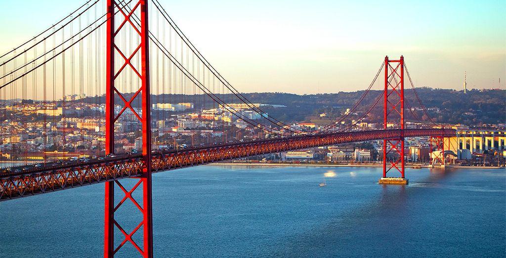 Et découvrez la magie de la capitale portugaise