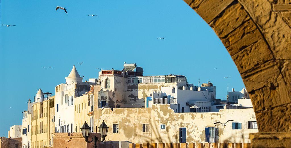 Vous séjournerez à proximité de la Médina d'Essaouira