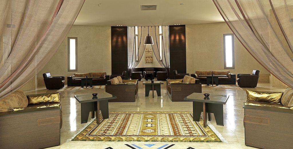 Dans le luxe de l'Atlas Essaouira & Spa