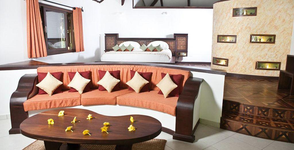 Un bungalow de pratiquement 73 m²...