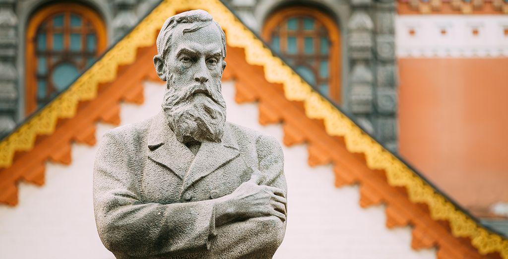 Et la galerie d'art Tretyakov