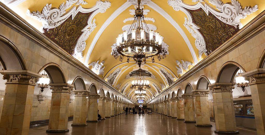 Des plus belles stations de métro du monde...