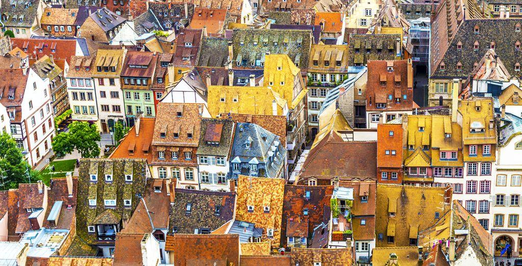 Arpentez une ville haute en couleurs