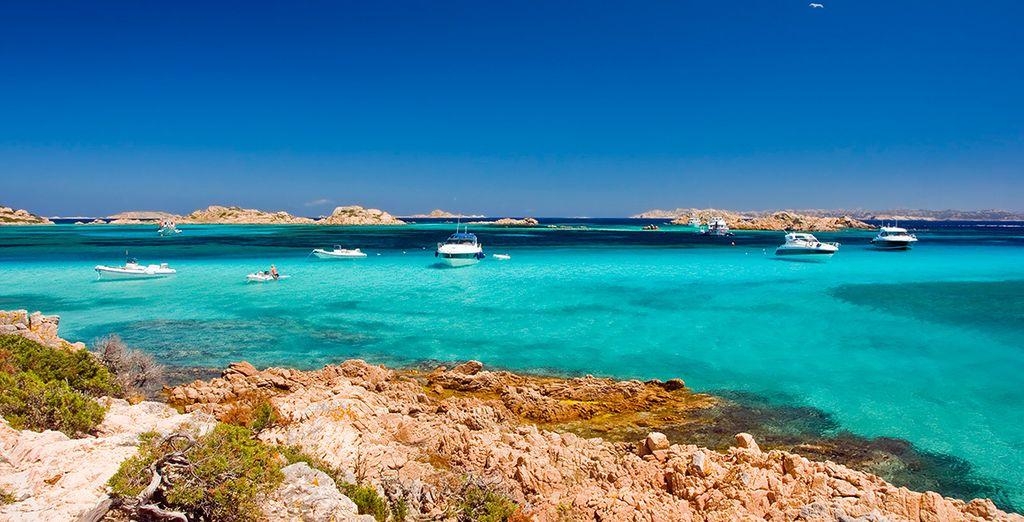 Soleil, ciel bleu azur et massif montagneux... - Coralia Club Baja Bianca 4* San Teodoro