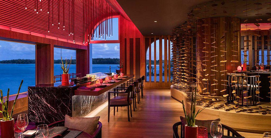 Des restaurants de toute beauté pour le plaisir des yeux...