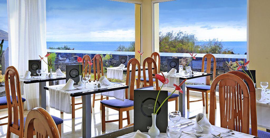 Prenez le temps de faire une pause au restaurant de l'hôtel