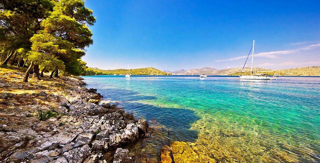 Dans l'une des perles de l'Adriatique