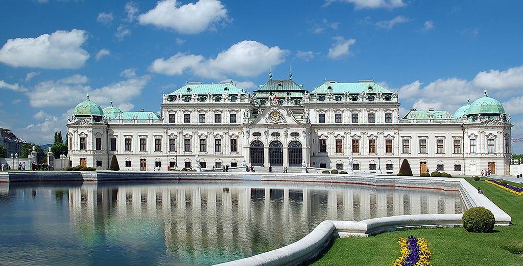 Visitez les palais de la ville
