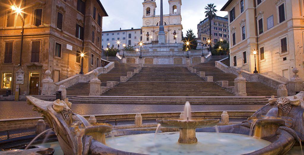 Et offrez-vous une balade près de la Piazza di Spagna