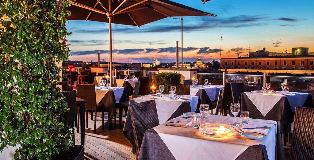 Ouvrez grands les yeux sur les toits de Rome... - Hôtel La Griffe Roma MGallery by Sofitel 5* Rome